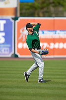 Clinton LumberKings Luis Liberato (22) during practice before a game against the West Michigan Whitecaps on May 3, 2017 at Fifth Third Ballpark in Comstock Park, Michigan.  West Michigan defeated Clinton 3-2.  (Mike Janes/Four Seam Images)
