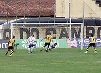 São Bernardo (SP), 29/09/2020 - São Bernardo-São Bento - Partida entre São Bernardo e São Bento pela seminifinal do Campeonato Paulista da Série A2, no estádio primeiro de Maio.