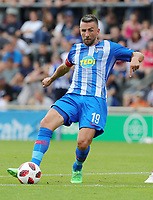 Vedad Ibisevic      <br /> / Sport / Football / pre season friendly Bundesliga  DFL /  2018/2019 / 15.08.2018 / Hertha BSC Berlin vs. Hscher FC Chemie HFC / DFL regulations prohibit any use of photographs as image sequences and/or quasi-video. /<br />       <br />    <br />  *** Local Caption *** © pixathlon