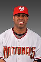14 March 2008: ..Portrait of Garrett Bass, Washington Nationals Minor League player at Spring Training Camp 2008..Mandatory Photo Credit: Ed Wolfstein Photo