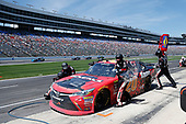 2017 NASCAR Xfinity Series<br /> My Bariatric Solutions 300<br /> Texas Motor Speedway, Fort Worth, TX USA<br /> Saturday 8 April 2017<br /> Erik Jones, Game Stop/ GAEMS Toyota Camry pit stop<br /> World Copyright: Matthew T. Thacker/LAT Images<br /> ref: Digital Image 17TEX1mt1329