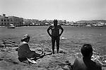 Cyclades Islands B/W
