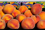 Fresh Picked Peaches, San Luis Obispo County, California