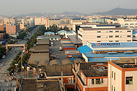 Taiwanese owned Foxconn plant, a high end electronic manufacture, employs well over 140,000 workers at their plant at Longhua, Shenzhen, China that consists of more than 10 large factories and 11 research units at a sprawling complex that covers several square kilometers. According to senior engineers Foxconn produce over 40% for apple at this plant including the i.pod Nano, G5 computer and Macmini computer. Payment for labour before overtime is around 800 RMB (56 pounds sterling). Foxconn employ almost a million workers in China..02 Mar 2006