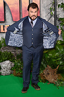 "Jack Black<br /> arriving for the ""Jumanji: Welcome to the Jungle"" premiere at the Vue West End, Leicester Square, London<br /> <br /> <br /> ©Ash Knotek  D3358  07/12/2017"