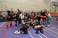 KORFBAL: HEERENVEEN: 21-10-2018, EK Korfbal, Strijd om het brons (3/4), België-Portugal, uitslag 19-20, ©foto Martin de Jong