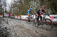 Denise Betsema (NED/Pauwels Sauzen-Bingoal) <br /> <br /> 2021 Flandriencross Hamme (BEL)<br /> <br /> ©kramon
