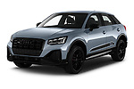 2021 Audi Q2 Edition-One 5 Door SUV Angular Front automotive stock photos of front three quarter view