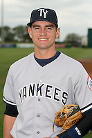 April 15, 2009:  Shortstop Addison Maruszak (59) of the Tampa Yankees, Florida State League Class-A affiliate of the New York Yankees, during a game at Space Coast Stadium in Viera, FL.  Photo by:  Mike Janes/Four Seam Images