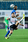 Besiktas Istambul Defender Dusko Tosic (L) fights for the ball with FC Schalke Forward Franco Di Santo (R) during the Friendly Football Matches Summer 2017 between FC Schalke 04 Vs Besiktas Istanbul at Zhuhai Sport Center Stadium on July 19, 2017 in Zhuhai, China. Photo by Marcio Rodrigo Machado / Power Sport Images