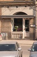 The wine bar Terrenos Vinotek on Kungshomen  Stockholm, Sweden, Sverige, Europe