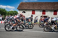 Thomas De Gendt (BEL/Lotto Soudal)<br /> <br /> Stage 19 from Mourenx to Libourne (207km)<br /> 108th Tour de France 2021 (2.UWT)<br /> <br /> ©kramon