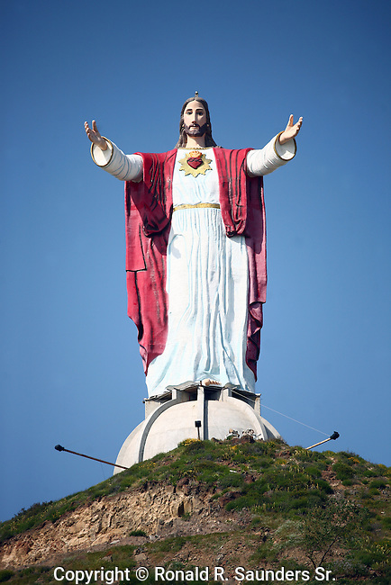 JESUS STATUE: Gigantic sculpture of Jesus on hilltop<br /> (3)