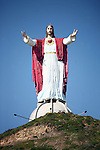 JESUS STATUE: Gigantic sculpture of Jesus on hilltop<br />
