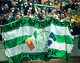 06.03.2013  Juventus v Celtic, UEFA Champions League round of the last 16 second leg  ...................    CELTIC FANS GIVE AMAZING SUPPORT