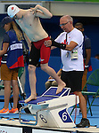 Nathan Clement, Rio 2016 - Para Swimming // Paranatation.<br /> Nathan Clement competes in the men's 50m butterfly // Nathan Clement participe au 50 m papillon masculin. 09/09/2016.