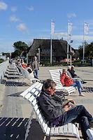 Promenade von Kühlungsborn-West, Mecklenburg-Vorpommern, Deutschland