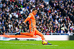 Goalkeeper Jordi Masip Lopez of Real Valladolid in action during the La Liga 2018-19 match between Real Madrid and Real Valladolid at Estadio Santiago Bernabeu on November 03 2018 in Madrid, Spain. Photo by Diego Souto / Power Sport Images