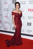 Hannah Miraftab Kinsella<br /> arriving for the Float Like a Butterfly Ball 2019 at the Grosvenor House Hotel, London.<br /> <br /> ©Ash Knotek  D3536 17/11/2019