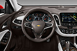 Car pictures of steering wheel view of a 2018 Chevrolet Malibu Premier 4 Door Sedan