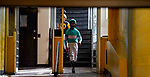October 3, 2020: Scene from during Preakness Stakes Day at Pimlico Race Course in Baltimore, Maryland. Scott Serio/Eclipse Sportswire/CSM