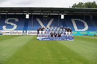 Mannschaftsfoto Saison 2020/21 - 27.08.2020: SV Darmstadt 98 Mannschaftsfoto, Stadion am Boellenfalltor, 2. Bundesliga, emonline, emspor<br /> <br /> DISCLAIMER: <br /> DFL regulations prohibit any use of photographs as image sequences and/or quasi-video.