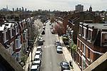 Roof tops London Islington 2016 UK