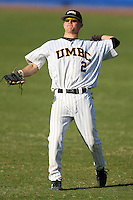 March 14, 2010:  Outfielder Mike Lafferty of UMBC in a game vs. Bucknell at Chain of Lakes Stadium in Winter Haven, FL.  Photo By Mike Janes/Four Seam Images