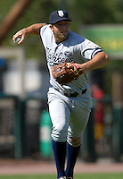 Staten Island Yankees' INF ROBERT SEGEDIN   during a game vs. the Lowell Spinners at LaLacheur Park in Lowell, Massachusetts August 29,  2010.   .  Photo By Ken Babbitt/Four Seam Images