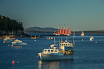 The Margaret Todd on Frenchman Bay in Bar Harbor, Maine, USA