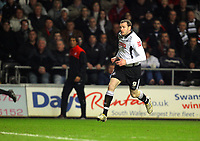 ATTENTION SPORTS PICTURE DESK<br /> Pictured:<br /> Re: Coca Cola Championship, Swansea City Football Club v West Bromwich Albion at the Liberty Stadium, Swansea, south Wales. Tuesday 16 March 2010