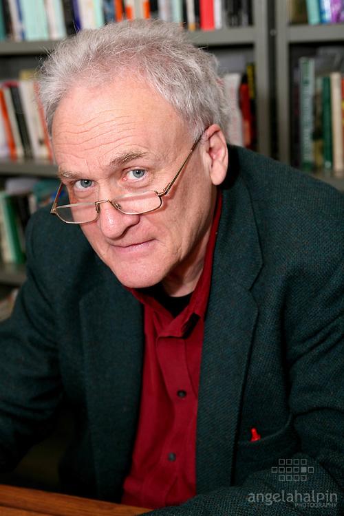 Paul Durcan Poet, writer Dublin Ireland. pictured in UCD on 13/03/07...