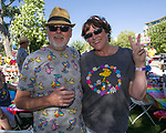 """Bill and Emily during the Pops on the River """"A night at Woodstock"""" concert at Wingfield Park in downtown Reno on Saturday, July 13, 2019."""