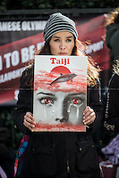 """21.02.2014 - """"Taiji Action Day for Dolphins 2014 in London"""""""