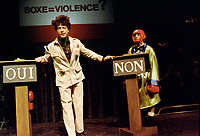 Montreal - Canada - File Photo - Ding et Dong in 1985.<br /> <br /> <br /> Photo by Denis Alix - Agence Quebec Presse