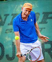Hilversum, The Netherlands,  August 23, 2019,  Tulip Tennis Center, NSK, Frank van Lerven (NED)<br /> Photo: Tennisimages/Henk Koster