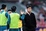 Jiangsu FC Head Coach Choi Yong Soo (R) during the AFC Champions League 2017 Round of 16 match between Shanghai SIPG FC (CHN) vs Jiangsu FC (CHN) at the Shanghai Stadium on 24 May 2017 in Shanghai, China. Photo by Marcio Rodrigo Machado / Power Sport Images