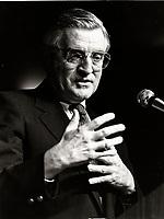 Montreal (QC) CANADA file photo -circa 1986 : Walter Mondale