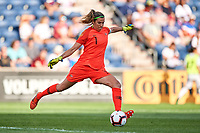 Bridgeview, IL- Thursday August 02, 2018: 2018 Tournament of Nations match between the women's national teams of Australia (AUS) and Japan (JPN) at Toyota Park.