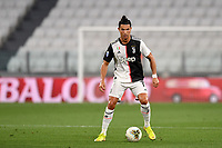 Cristiano Ronaldo of Juventus in action during the Serie A football match between Juventus FC and US Lecce at Juventus stadium in Turin  ( Italy ), June 26th, 2020. Play resumes behind closed doors following the outbreak of the coronavirus disease. Photo Andrea Staccioli / Insidefoto