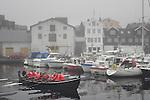 Boat race activities, Torshavn, Faroe Islands