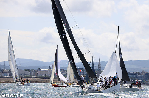 Every two years at Dun Laoghaire, the town and the waterfront yacht clubs combine to host Ireland's biggest sailing regatta