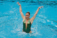 2 February 2008: Sara Lowe during Stanford's 90-69 win over Alabama-Birmingham at the Avery Aquatic Center in Stanford, CA.