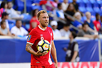 Harrison, NJ - Friday July 07, 2017: Scott Arfield during a 2017 CONCACAF Gold Cup Group A match between the men's national teams of French Guiana (GUF) and Canada (CAN) at Red Bull Arena.