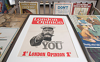 BNPS.co.uk (01202) 558833<br /> Pic: ZacharyCulpin/BNPS<br /> <br /> The London Opinion Kitchener poster<br /> <br /> An incredibly-rare poster that was the forerunner for the famous 'Your Country Wants You' World War One recruitment advert has been discovered.<br /> The poster, featuring Lord Kitchener pointing his finger, was a news stand advert for an edition of the magazine London Opinion in September 1914.<br /> Officials from the War Office spotted it and decided they wanted the same design for their nationwide recruitment campaign for young men to join the army.