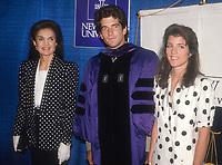 Jackie, John Kennedy, Jr. Caroline Kennedy 1983<br /> Photo By John Barrett/PHOTOlink.net