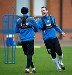 Jon Daly and Nicky Law