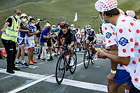 Richard Carapaz (COL/Ineos-Grenadiers) and Bauke Mollema (NED/Trek-Segafredo)<br /> <br /> Stage 8 from Cazères-sur-Garonne to Loudenvielle 141km<br /> 107th Tour de France 2020 (2.UWT)<br /> (the 'postponed edition' held in september)<br /> ©kramon
