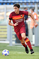 Roberto Calafiori of AS Roma during the friendly football match between Frosinone calcio and AS Roma at Benito Stirpe stadium in Frosinone (Italy), September 9th, 2020. AS Roma won 4-1 over Frosinone Calcio. Photo Andrea Staccioli / Insidefoto