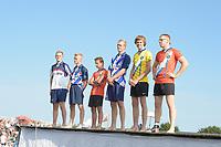 FIERLEPPEN/POLSTOKVERSPRINGEN: ZEGVELD, 31-08-2019: Nederlands Kampioenschap Fierljeppen/Polstokverspringen, ©foto Martin de Jong